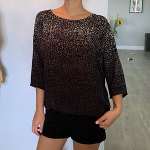 NWT joie 100% silk loose style blouse